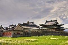 Erdene Zuu kloster, Kharkhorin, Mongoliet Arkivbilder