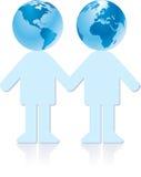 Erdepaare lizenzfreie abbildung