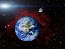 Erdeplanet Stockfotografie