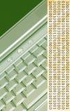 Erdetondatenverarbeitung Stockbild