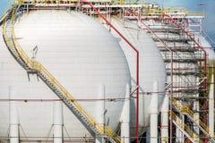 Erdgas-Behälter Lizenzfreie Stockbilder