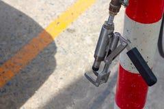 Erdgas ngv, lpg, alternative Energie der cng Fahrzeugpistolen-Pumpengewehr-Zapfpistole stockbild