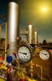 Erdgasindustrie lizenzfreie stockfotografie