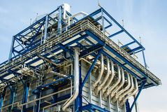 ErdgasKraftwerk Stockbilder