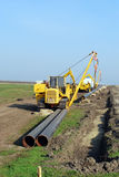 Erdgasleitung Lizenzfreie Stockfotos