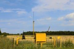 Erdgasstation Lizenzfreies Stockbild