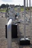 Erdgasverteilung Stockfotos
