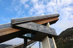 Erdinger Arena in Oberstdorf Royalty Free Stock Image