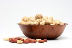 Erdnüsse 2 Stockbild