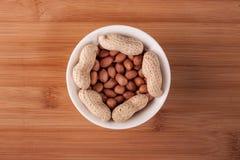 Erdnüsse Stockfoto