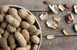 Erdnüsse Lizenzfreie Stockfotografie