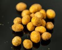 Erdnüsse in der Glasur Lizenzfreies Stockbild