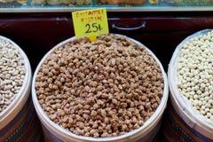 Erdnüsse des indischen Sesams Stockbild