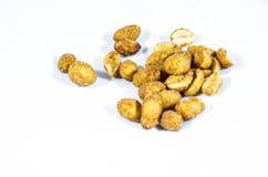Erdnüsse gebraten mit Zucker- und Salzhonig Stockfotos
