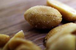 Erdnüsse Makro lizenzfreie stockfotografie