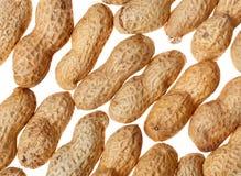 Erdnuss-Hintergrund Stockfoto