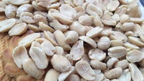 Erdnussbetrug-Keksmakro stock video