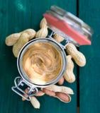 Erdnussbutter Lizenzfreie Stockfotos