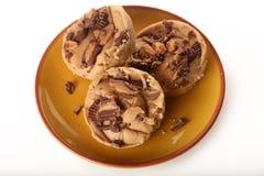 Erdnussbutter-Fudge Stockfotos