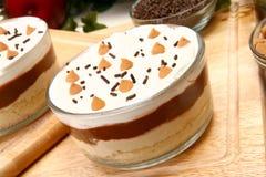Erdnussbutter-Pudding Lizenzfreie Stockbilder