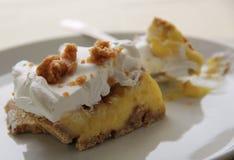 Erdnussbutter-Torte Lizenzfreies Stockbild