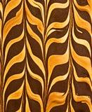 Erdnussbutter- und Schokoladenmuster Lizenzfreie Stockbilder