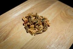 Erdnussmischsardelle Stockbild