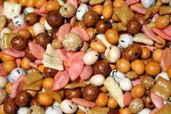 Erdnussmischung lizenzfreie stockfotos