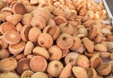 Erdnussplätzchen, rein für Passahfest lizenzfreie stockbilder