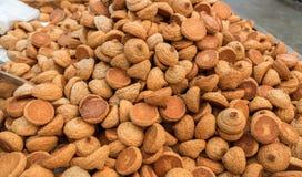 Erdnussplätzchen, rein für Passahfest, für Verkauf lizenzfreies stockfoto