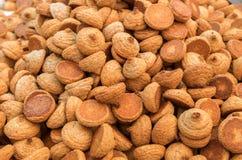 Erdnussplätzchen, rein für Passahfest, für Verkauf lizenzfreie stockfotografie