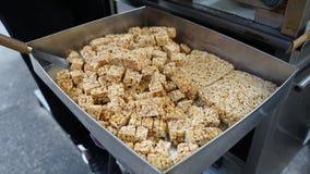 Erdnusssüßigkeit von Macao-Nahrung stockbild