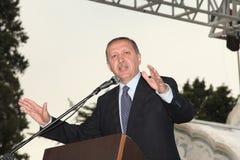 erdogan部长最初recep tayyip 免版税库存图片