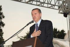 erdogan部长最初recep tayyip 库存图片