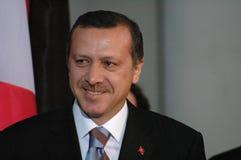 erdogan receptayyip Arkivbild