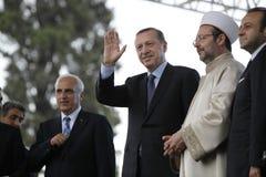erdogan tayyip recep главного министра Стоковая Фотография