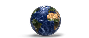Erdplanet 3d Lizenzfreie Stockfotos