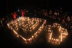 Erdstunden in Indonesien Lizenzfreie Stockbilder