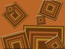 Erdtondiamanten Stockbild