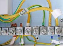 Erdung der Stromversorgung Lizenzfreies Stockfoto
