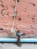 Erdung von den Elektrogeräten, Innen stockbild