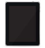 ereader查出的个人计算机屏幕片剂接触向&# 免版税库存图片