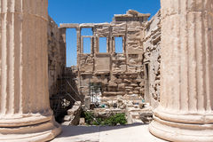 Erechteion Acropolis Athens Greece Royalty Free Stock Image