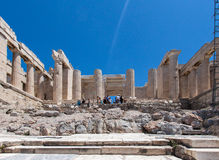 Erechteion Acropolis Athens Greece Stock Photography