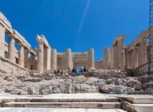 Erechteion Acropolis Athens Greece Stock Photography