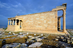 Erechteion at Acropolis Royalty Free Stock Photo