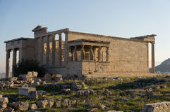 Erechteum-Tempel, Akropolis, Athen, Griechenland Stockfotos