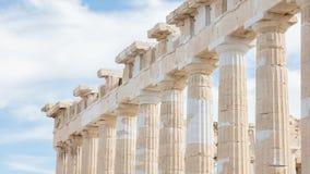 Erechtheion à l'Acropole à Athènes - en Grèce photographie stock libre de droits