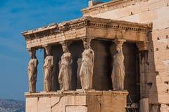 Erechtheion, Афины Стоковое Изображение RF