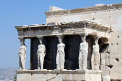 Erechtheion Royalty Free Stock Images